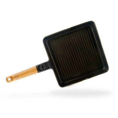 Grill con rayas Bra Market 28 cm (aluminio fundido 6mm)