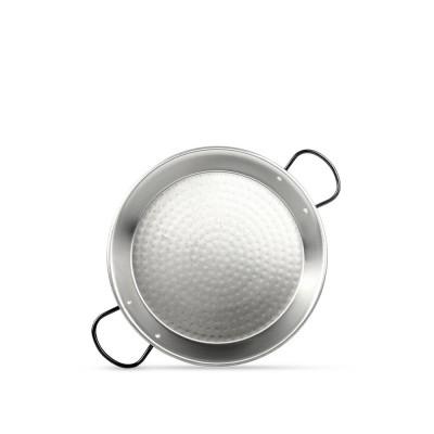 Paellera de acero pulido 28cm (1 plato)