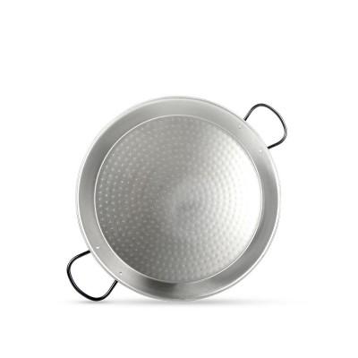 Paellera de  3 a 4 raciones de acero pulido 40 cm