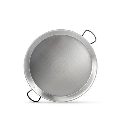 Paella tradicional para 6 a 8 personas de 50 cm de acero pulido