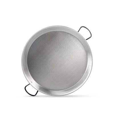 Paellera de acero pulido 55cm - 8 a 10 raciones