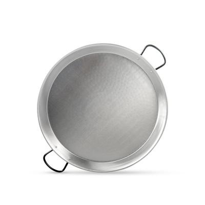 Paella de acero pulido 60cm - 9 o 12 personas