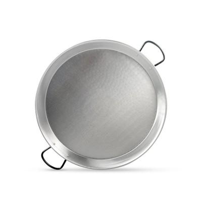 Paellera de acero pulido 65cm 10 a 13 platos
