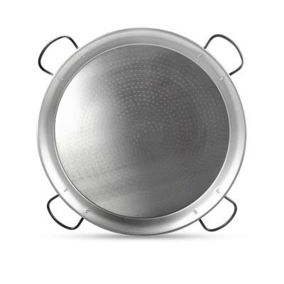 Paellera de acero pulido 100cm - 35 a 60 platos de paella