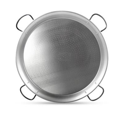 Paellera de acero pulido 115cm de 50 a 80 raciones