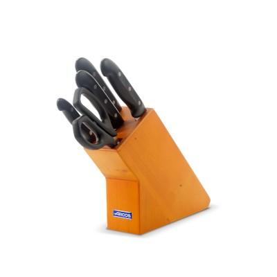 Taco de 4 cuchillos y tijeras Serie Maitre 152100