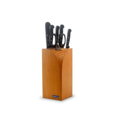 Taco de 4 cuchillos, tijeras y macheta Serie Universal 285100
