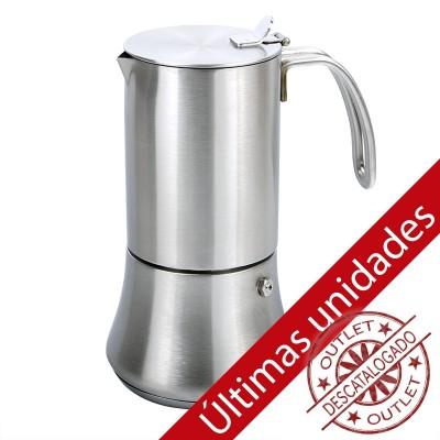 Cafetera acero inoxidable 10tz (Bra New Bahía)