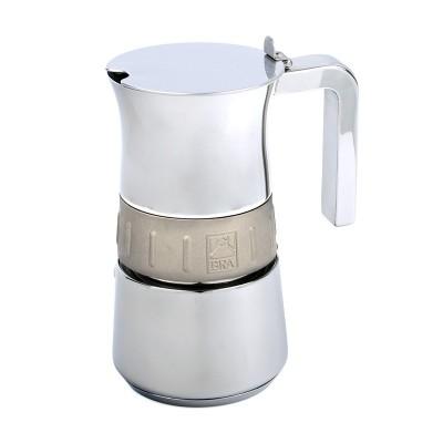 Cafetera acero inoxidable 10tz (Bra Elegance Gold)