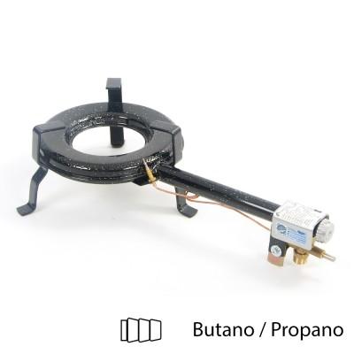 Hornillo de gas butano 25cm ø para interior