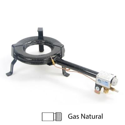 Hornillo para gas natural 25cm ø para interior