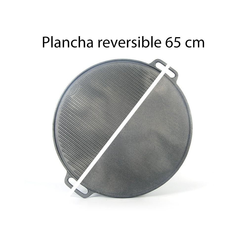 Asadora de hierro fundido 65cm ø