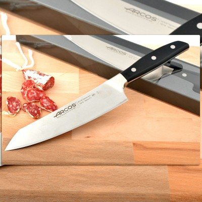 Cuchillo Rocking Santoku Arcos (190mm) Serie Manhattan 161600