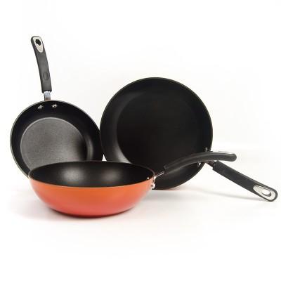 Pack sartenes y wok Fuego (Karlos Arguiñano) Vitrex Gourmet