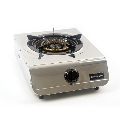 Cocina de acero inoxidable de triple corona de 1 fuego
