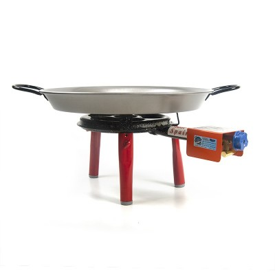 Pack Super Paellero + Paella para 2 personas + patas encimera