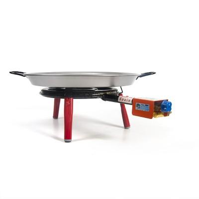 Pack Super Paellero + Paella para 4 personas + patas encimera