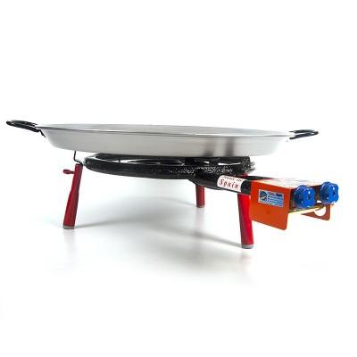 Kit Super Paellero + Paella para 8 personas + patas encimera