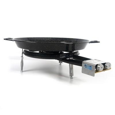 Kit Deluxe - Paellero + Paella para 4-5 personas + patas encimera