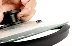 Borde protector de silicona, fácil de quitar para su limpieza