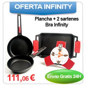 Oferta: Sartenes + Plancha Bra Infinity